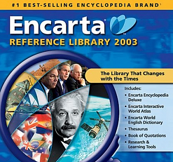Microsoft Encarta Reference Library 2003 [OLD VERSION